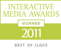 Interactive Media Award 2011 Best in Class