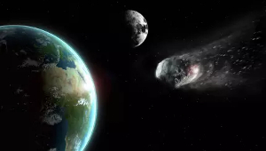Asteroid flies close to Earth